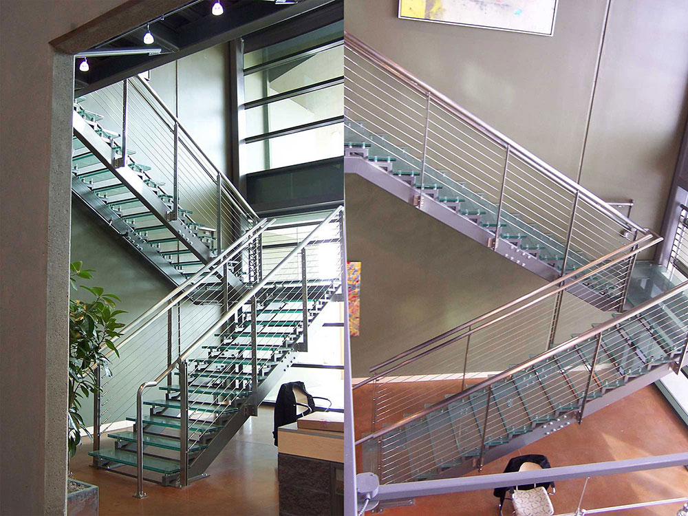 Paragon Glass Flooring Staircase Systems
